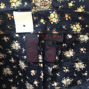 Ralph Lauren Pants - Ralph Lauren Ibiza floral pants stretch cotton